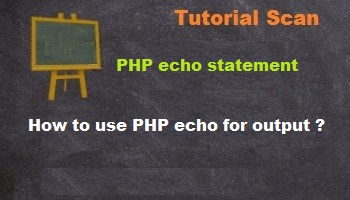 php echo