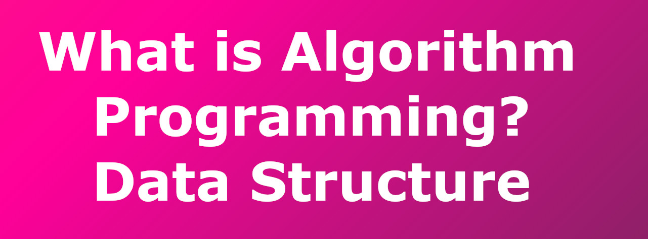 What is Algorithm Programming