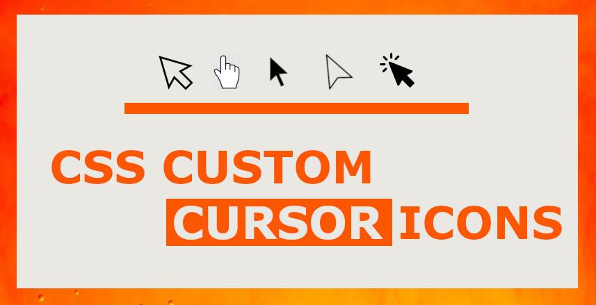 CSS Cursor Pointers