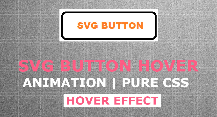 SVG Button Hover Animation